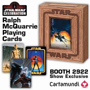 Star Wars Celebration 2017 Ralph McQuarrie Exclusive Deck